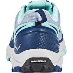 Salewa Multi Track Shoes Women dark denim/aruba blue